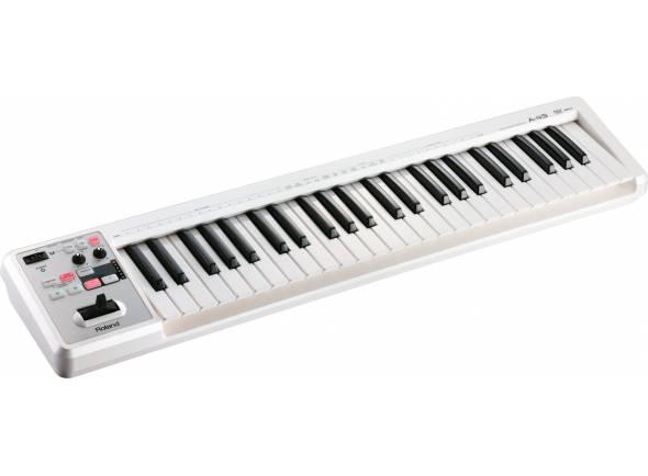 Teclados MIDI Controladores Roland A-49 Branco