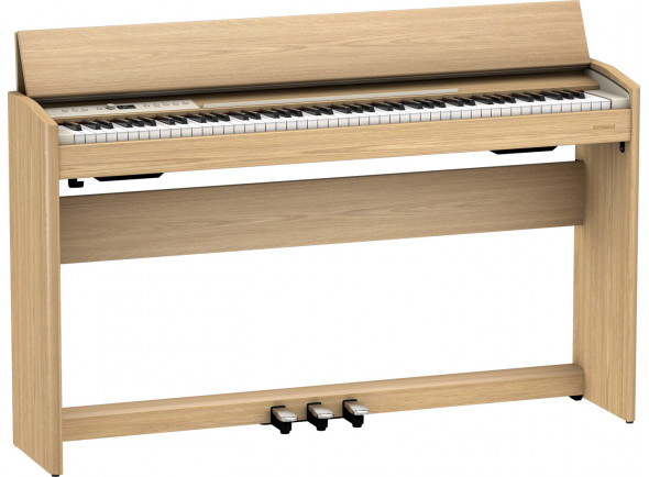 Pianos Digitais de Móvel Roland F701 LA Light Oak Piano Premium Bluetooth