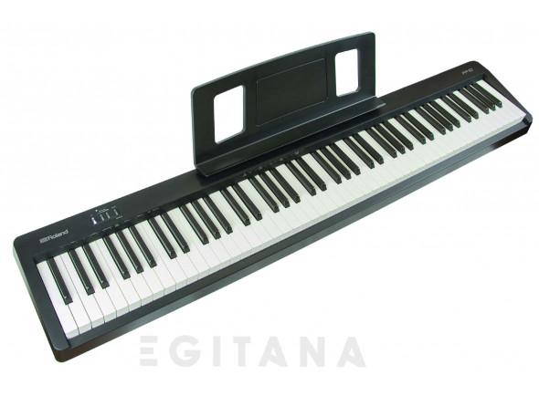 Pianos Digitais Portáteis  Roland FP-10 Piano Portátil Preto Bluetooth B-Stock