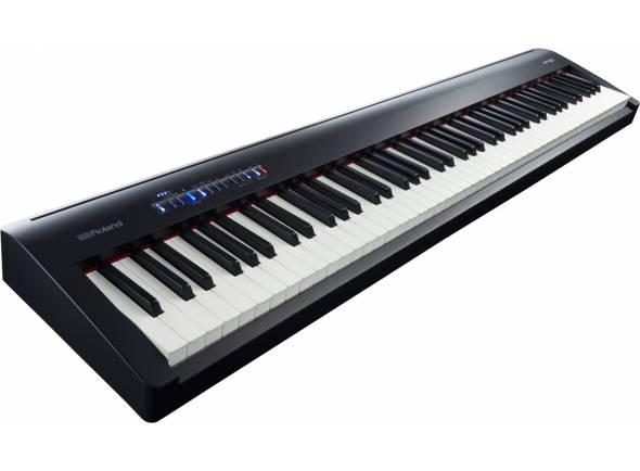 Pianos Digitais Portáteis  Roland FP-30 BK Piano Digital