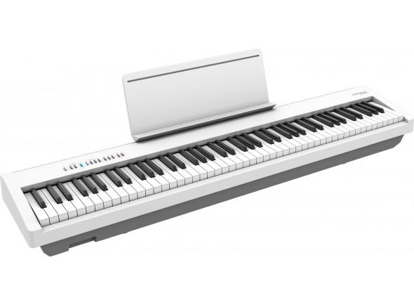 Pianos Digitais Portáteis  Roland FP-30X WH Piano Portátil Branco Bluetooth