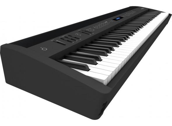 Pianos Digitais Portáteis  Roland FP-60X BK Piano Portátil Premium Preto