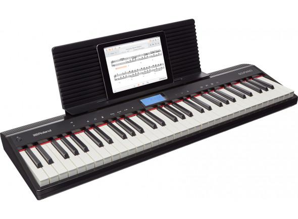 Pianos Digitais Portáteis  Roland GO:PIANO Piano Digital Portátil EXPO