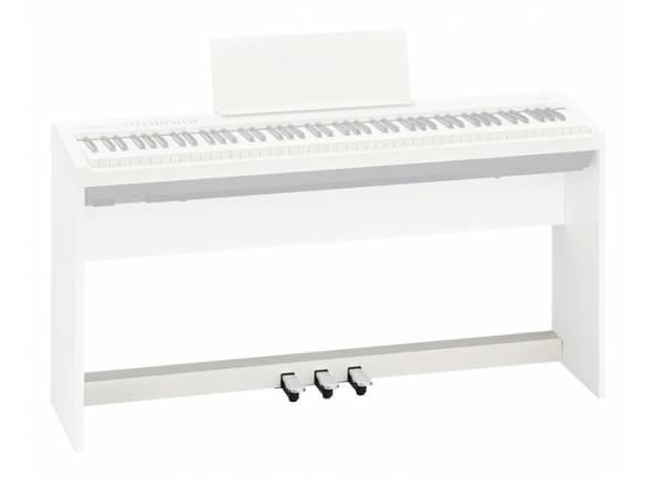 Suporte de teclado Roland KPD-70 WH Barra de Pedais para FP-30 WH