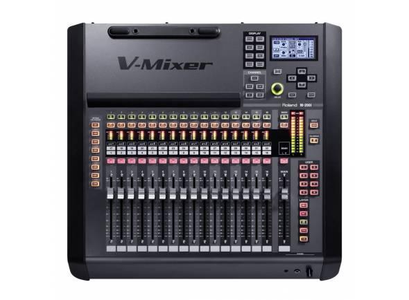 Roland M200i   Console de mixagem ao vivo M-200i Controle abrangente por iPad que atende a funções de console profissional Qualidade sonora de classe mundial em único Console – M-200i V-Mixer