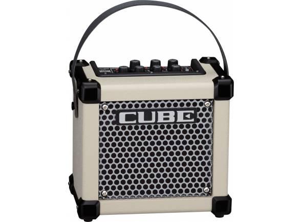 Roland Micro Cube GX WH  Amplificador de Guitarra Combo Roland Micro Cube GXW Branco