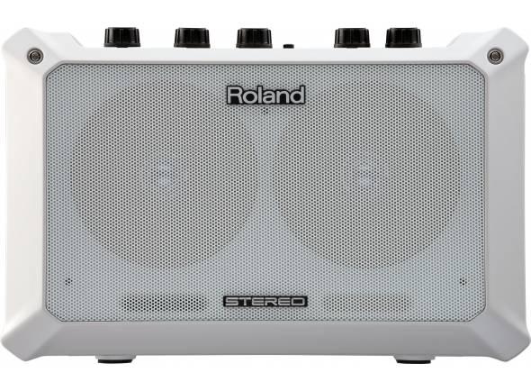 Roland Mobile BA  Amplificador acustico Roland Mobile BA Branco