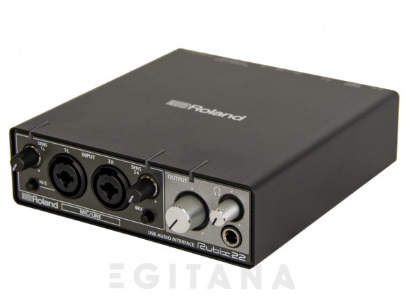 Interface Áudio USB Roland RUBIX22 USB Audio Interface 24-bits 192kHz