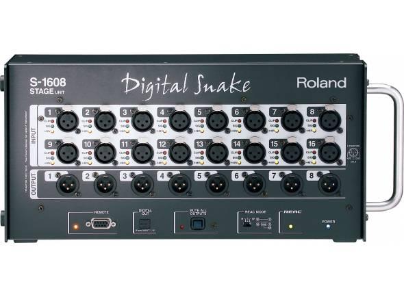 Roland S-1608  S-1608 Digital Snake S-1608 - Sistema Digital Snake, compacto e portátil