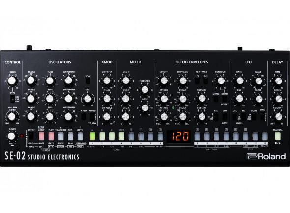 Sintetizadores Roland SE-02 Sintetizador Analógico Studio Electronics BOUTIQUE B-Stock