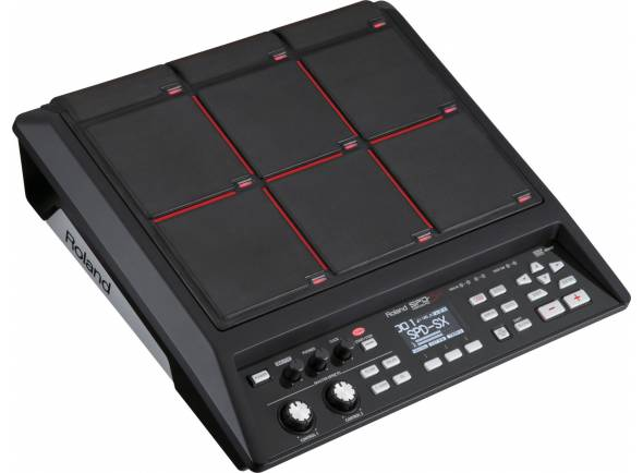 Pads de Sampling e Percussão Roland SPD-SX Sampling Pad 4GB