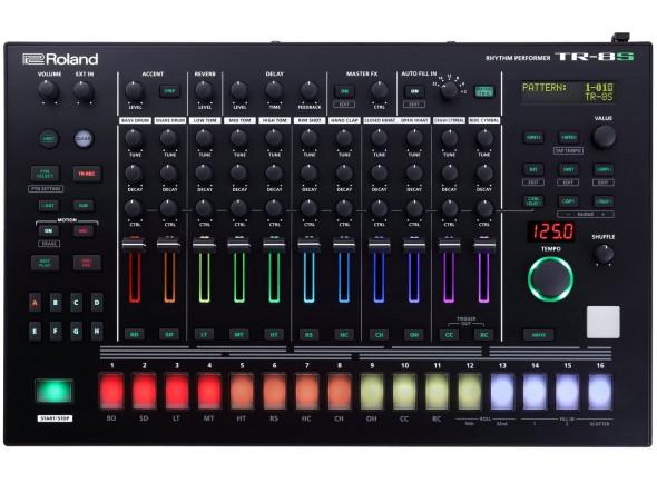 Sequenciadores de ritmos Roland TR-8S Caixa de Ritmos B-Stock