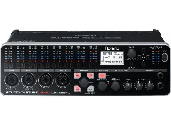Roland UA-1610 STUDIO-CAPTURE USB 2.0 Audio Interface 24-bit / 192kHz