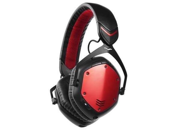 V-MODA Crossfade Wireless Rouge  Auscultadores V-MODA Crossfade Wireless Rouge