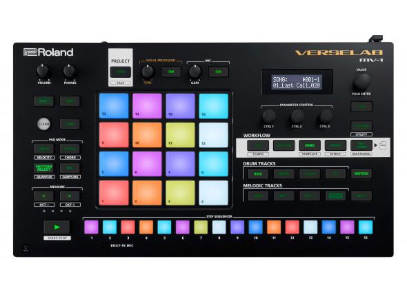 Sequenciadores de ritmos Roland VERSELAB MV-1 Estúdio Produção