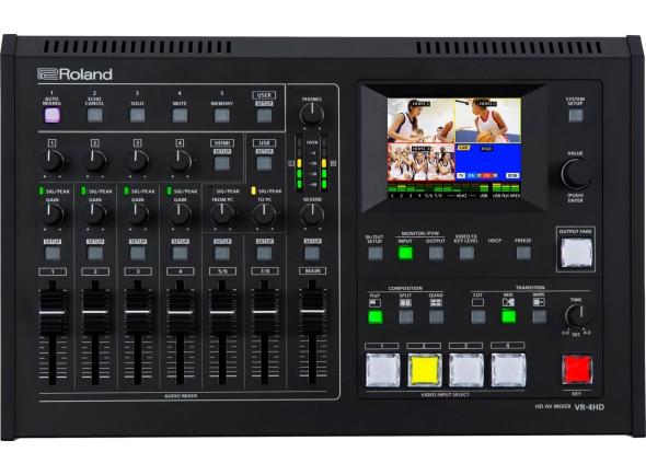 Mesa de Edição de Vídeo Roland VR-4HD B-Stock