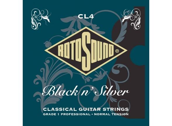 Jogos de cordas para guitarra clássica Rotosound CL4