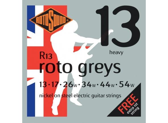 Jogo de cordas .013 Rotosound Nickel Heavy Roto R13