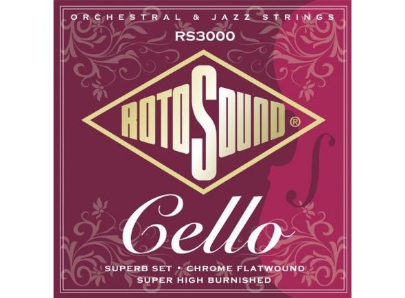 Cordas para violoncelo Rotosound RS3000