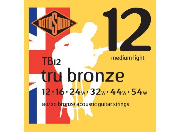 Jogo de cordas .012 Rotosound TB12