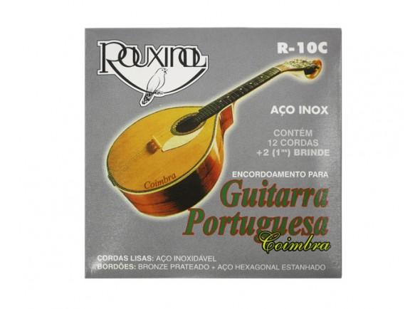 Rouxinol Jogo de Cordas Guitarra Portuguesa R10C Coimbra