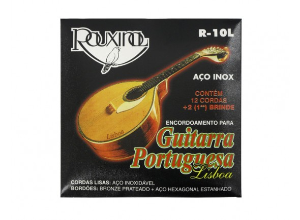 Rouxinol Jogo de Cordas Guitarra Portuguesa R10L Lisboa