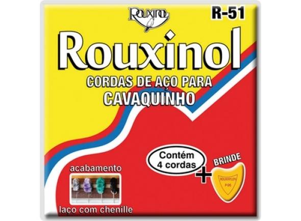 Jogos de cordas para cavaquinho Rouxinol R-51 (CAVAQUINHO BRASILEIRO)