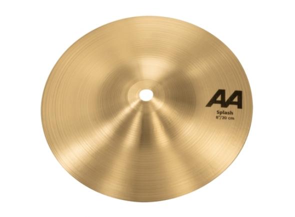Pratos splash Sabian AA 8'' Splash Cymbal