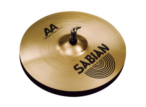 Pratos de choque Sabian AA metal-X 14