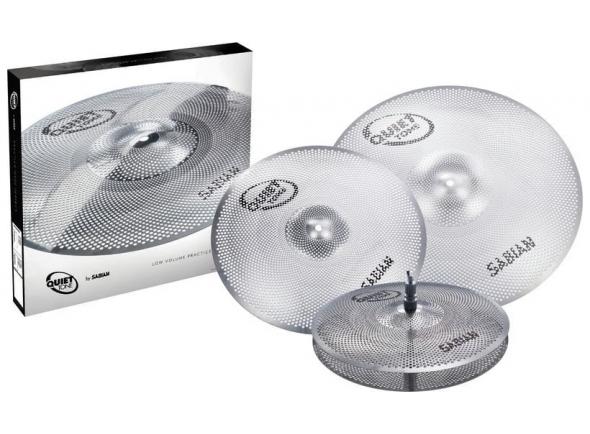 Conjunto de Pratos Sabian Quiet Tone Cymbal Set QTPC503