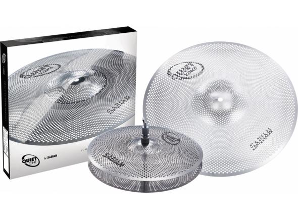 Juego de platos Sabian Quiet Tone Practice Cymbal Set QTPC501 13