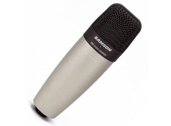 Samson C01  Microfone Condensador C01 é perfeito para captação de voz e microfonação de instrumentos, com qualidade Samson.