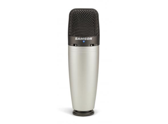 Microfone Vocal Condensador Samson C03