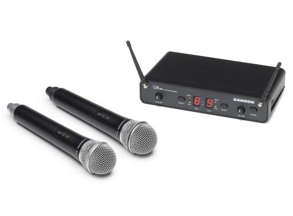 Sistema sem fios com microfone de mão Samson Concert 288 Handheld
