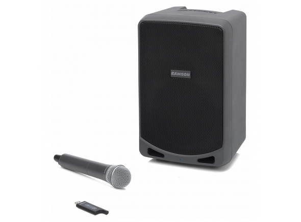 Sistemas Portáteis com Bateria Samson Expedition XP106W Portable PA System with Wireless Mic