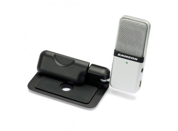 Microfone USB Samson Go Mic Portable USB Condenser Microphone