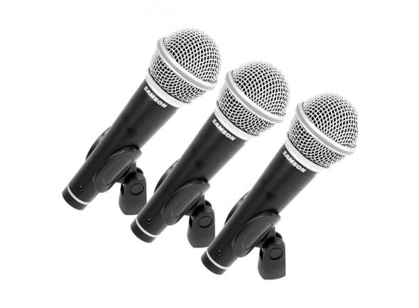 Microfone Vocal Dinâmico Samson R 21 S