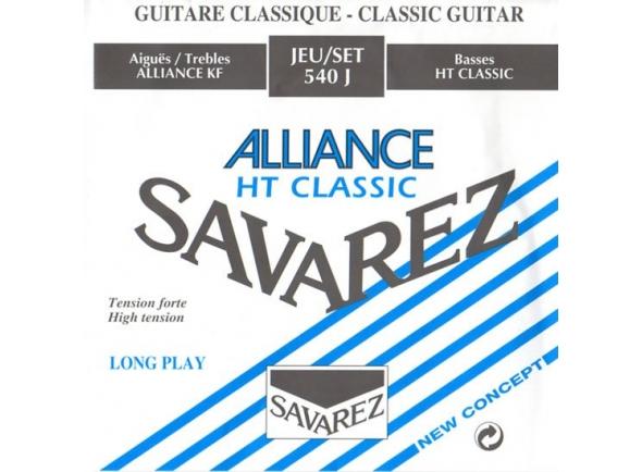 Jogos de cordas para guitarra clássica Savarez 540J