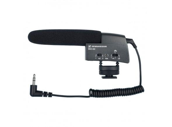 Microfone para Câmara Sennheiser MKE 400