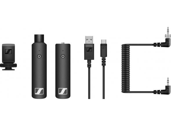 Transmissão de audio sem fio  Sennheiser SW-D Portable Interview Set