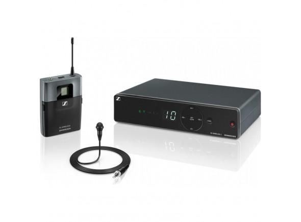 Sistema sem fio com microfone lapela Sennheiser XSW 1-ME2 Banda A
