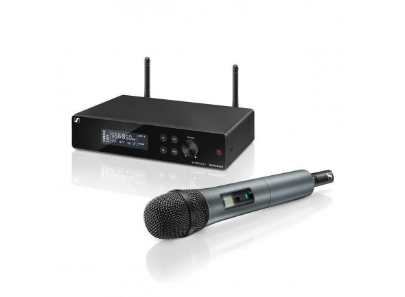 Sistema sem fios com microfone de mão Sennheiser XSW 2-835 A-Band Vocal Set