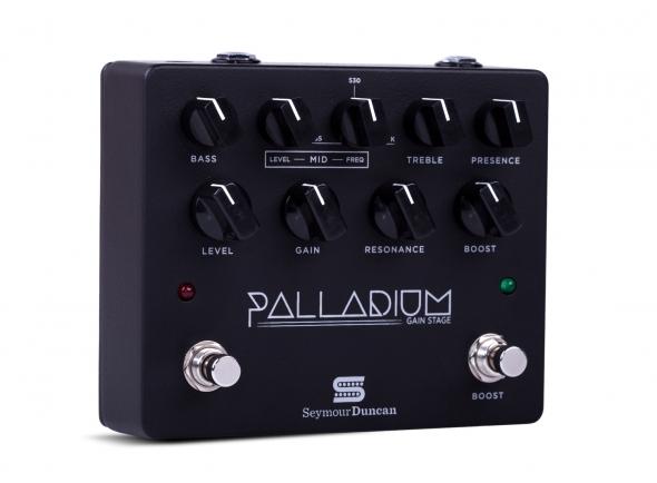 Preamps de guitarra Seymour Duncan Palladium Gain Stage BK
