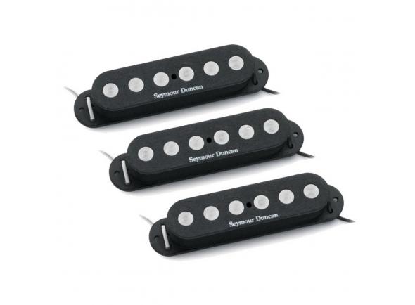 Captadores para guitarra elétrica Seymour Duncan SSL4 Quarter Pound Set