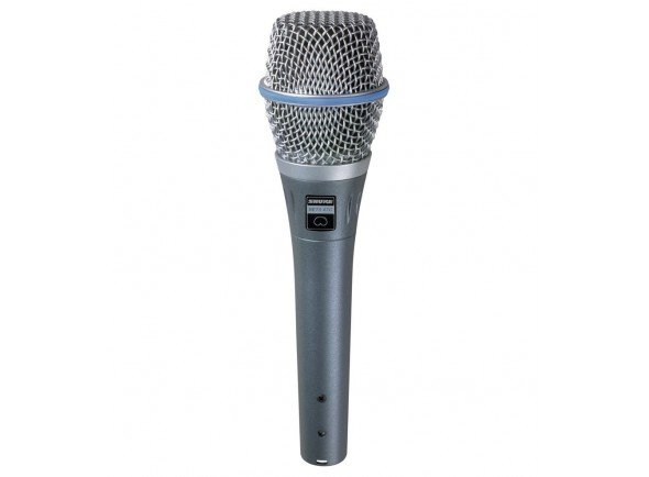 Microfone Vocal Condensador Shure BETA 87C