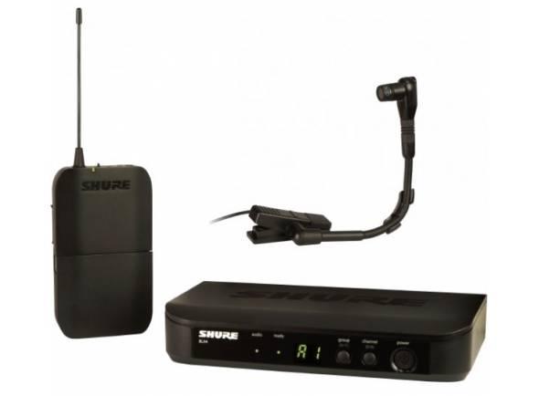 Sistemas sem fios com microfones para instrumentos Shure BLX14/B98