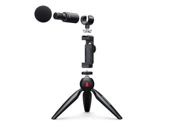 Microfone Vocal Condensador Shure MOTIV MV88+ Video Kit