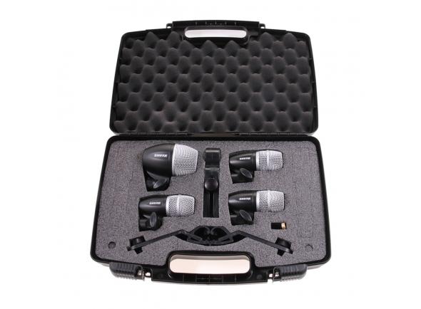 Shure PGDMK4-XLR 4 microfones