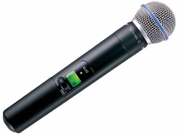 Microfones para sistema sem fios Shure SLX2/BETA58 L4E