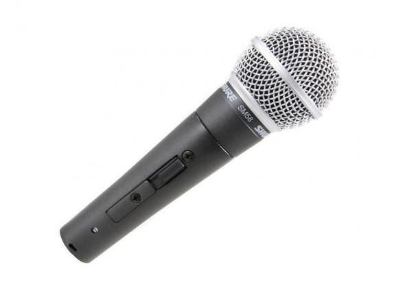 Microfone Vocal Dinâmico Shure SM58S